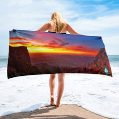 Arizona Sunset Towel