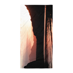 Sunrise Saguaro Lake Arizona Towel
