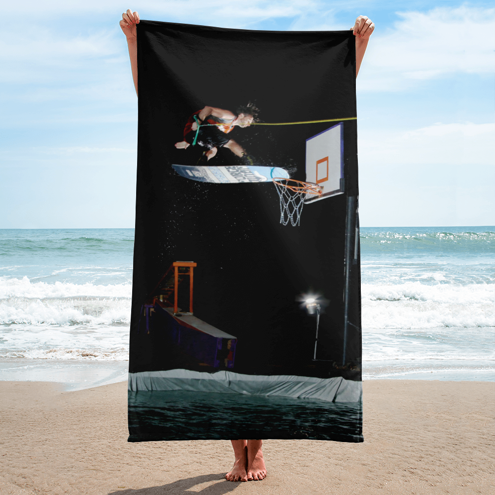 Jimmy Wolf Wakeboard Dunk Towel