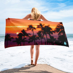 Hawaii Golden Sunset Towel