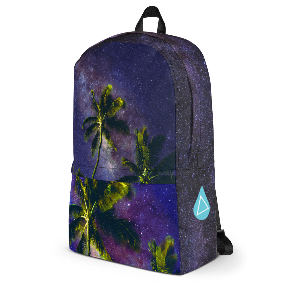 Space Palm Photo Backpack