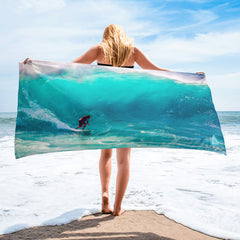 Surf Big Wave Towel