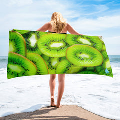 Sweet Green Kiwi Towel