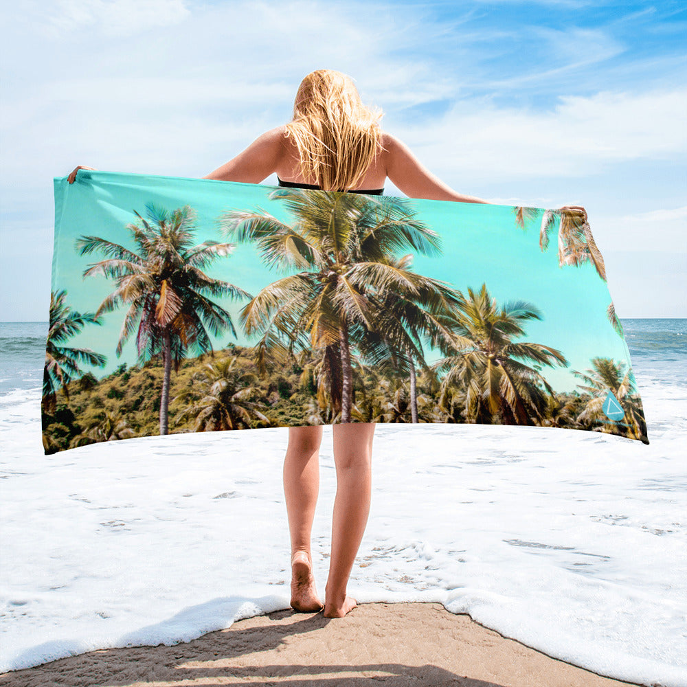 Palm Tree Sky Towel