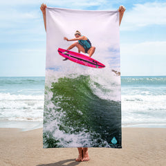 Ashley Kidd Pro Wakesurfer Towel