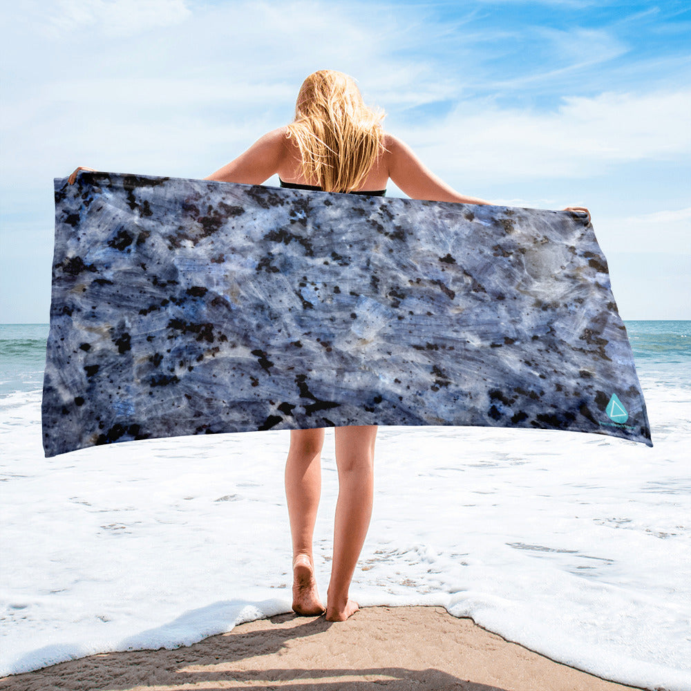 Blue Kyanite Towel
