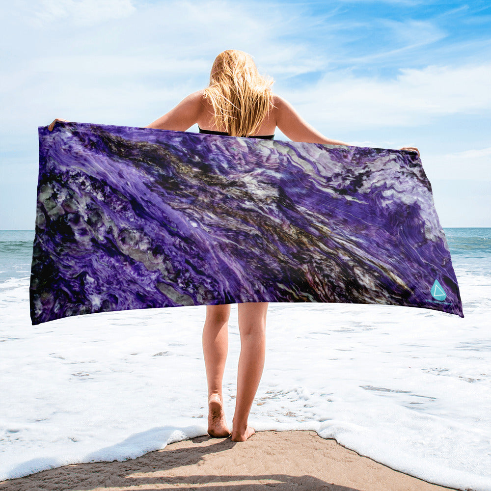 Purple Agate Towel