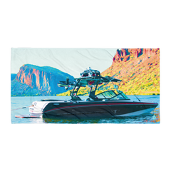 Nautique Boat Canyon Lake Towel