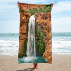 Havasupai Mooney Falls Arizona Towel