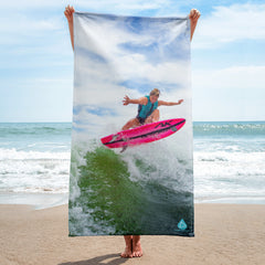 Ashley Kidd Pro Wakesurfer 180 Towel