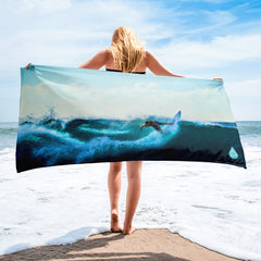 Surf Wave Towel