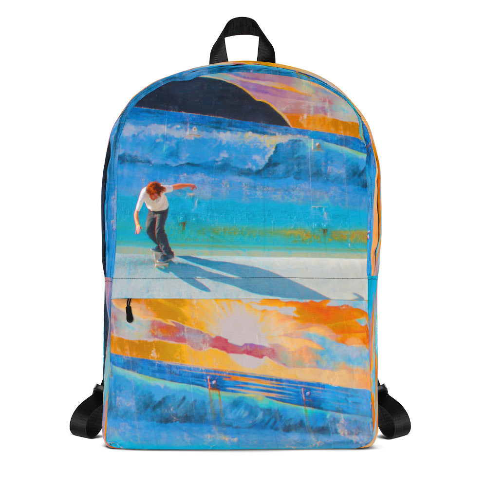 Skate The Surf Photo Backpack