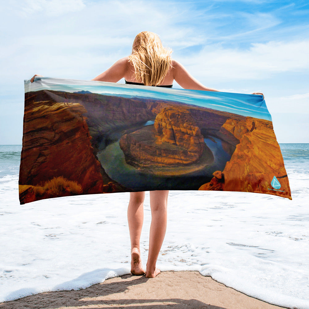 Lake Powell Horse Shoe Bend Towel