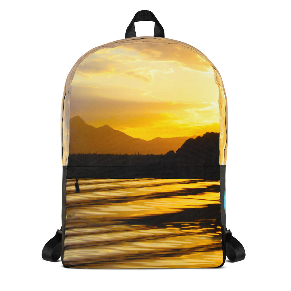 Saguaro Lake Sunrise Photo Backpack
