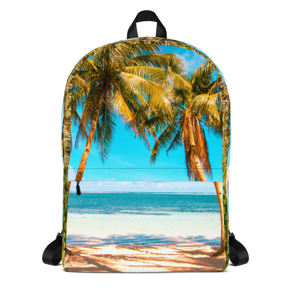 Beach Travel Photo Backpack