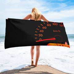 Drive Time mph Towel