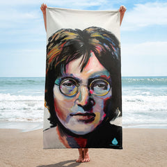 John Lennon Beatles Towel