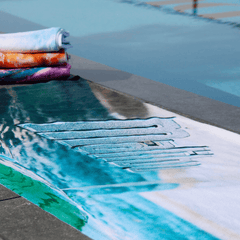 Pipeline Wave Surfing North Shore Towel