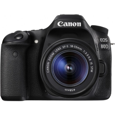 CANON EOS 80D DSLR 18-55mm KIT
