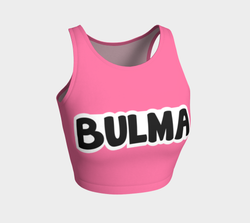 Bulma Inspired Crop Top Dragon Ball +