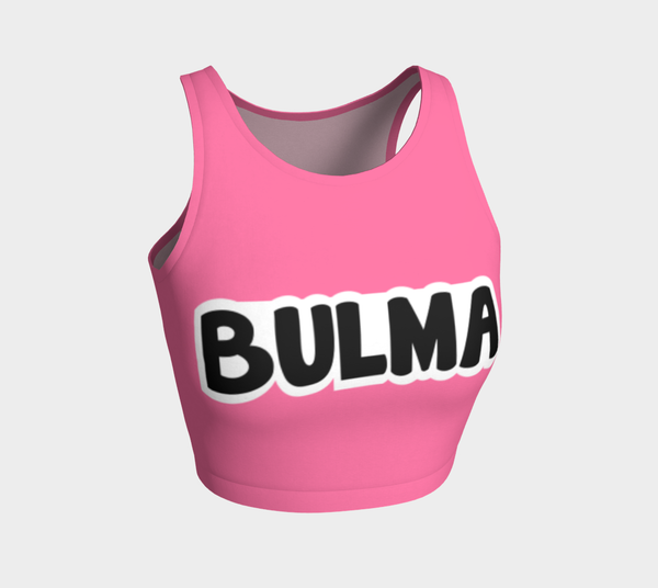 Bulma Inspired Crop Top Dragon Ball