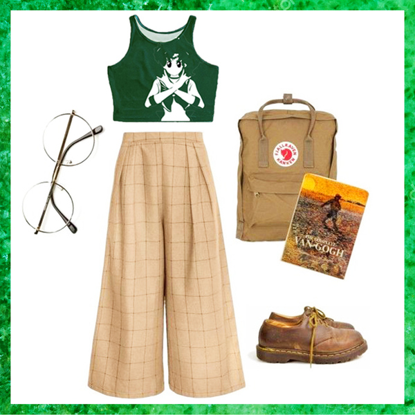 Sailor Jupiter Crop Top