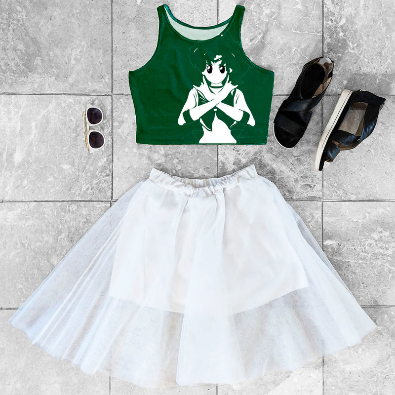 Sailor Jupiter Crop Top +