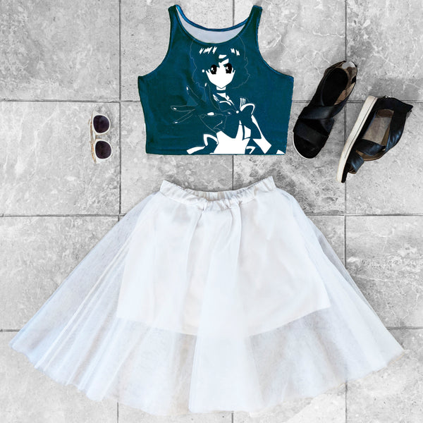 Sailor Mercury Crop Top