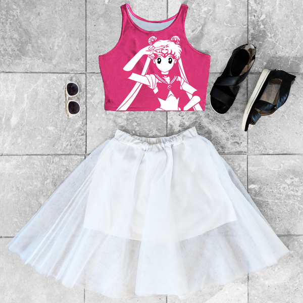 Sailor Moon Crop Top