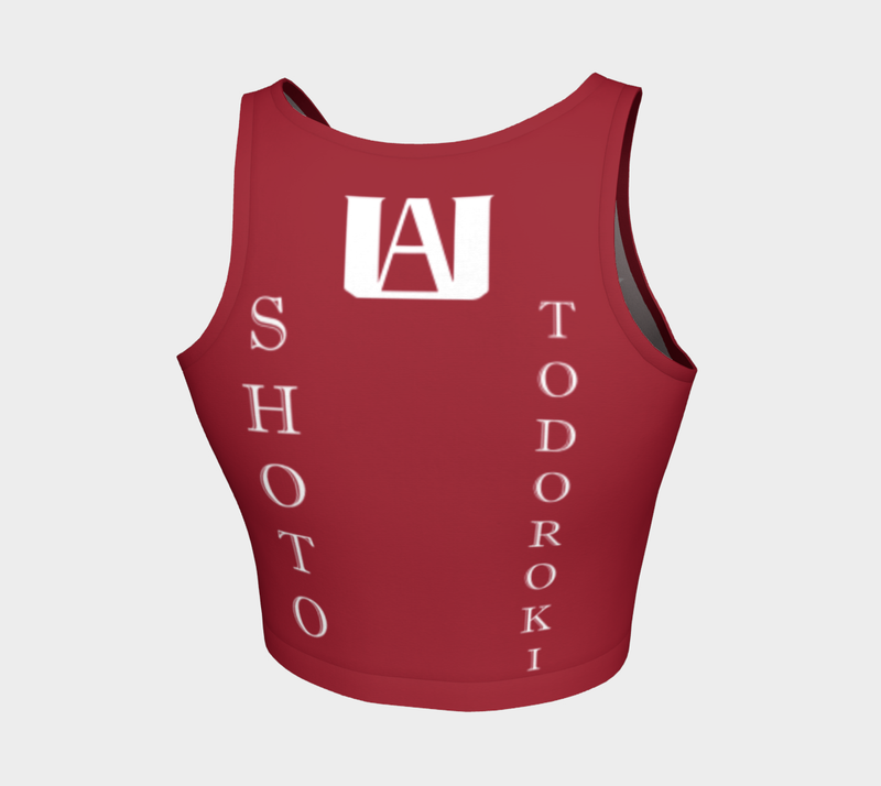 Todoroki Crop Top