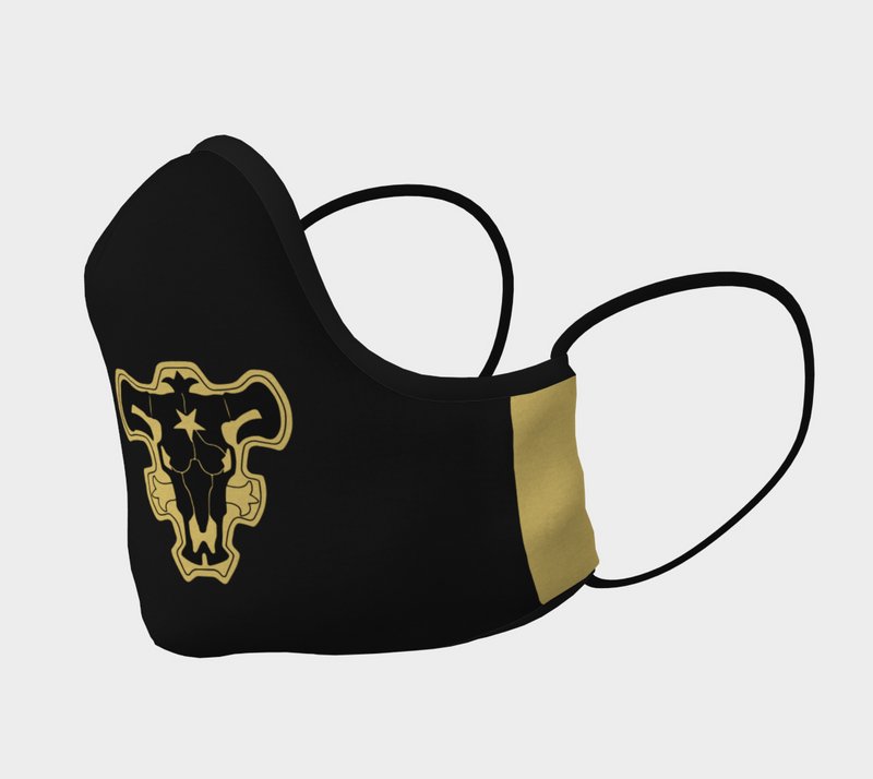 Black Bulls Black Clover Face Mask