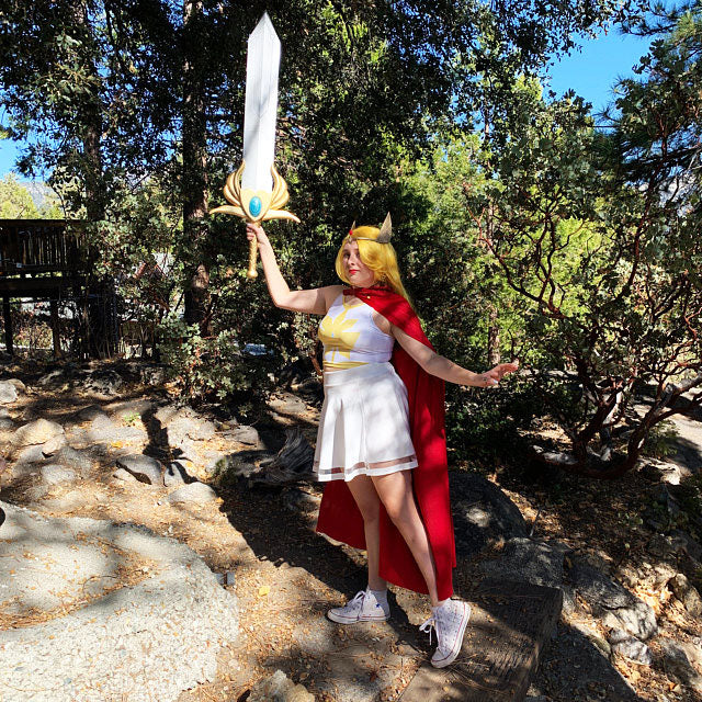 Shera Crop Top Cosplay Thicc Edition