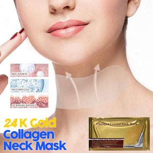 24K Gold Collagen Neck Mask - Gem Owl