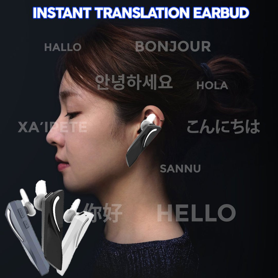 Instant Translation Earbud - Gem Owl
