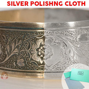 Silver Polishing Cloth - Gem Owl