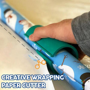 Creative Wrapping Paper Cutter - Gem Owl