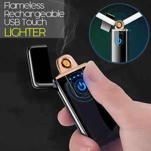 Flame-less Rechargeable USB Touch Lighter - Gem Owl