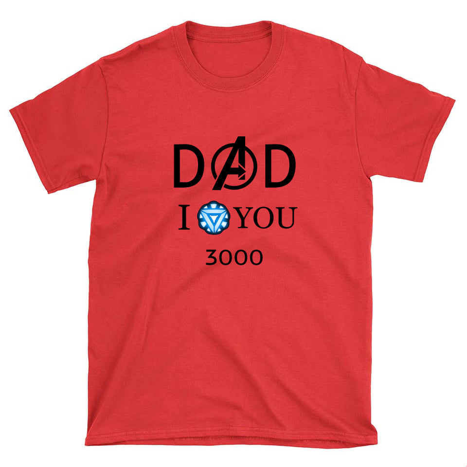 I Love You 3000 Quote Shirt - Gem Owl