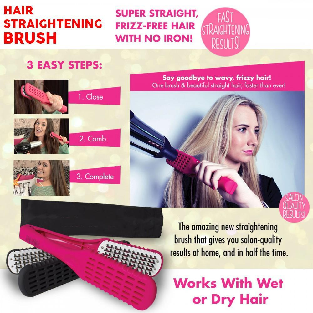 Hair Straightening Brush - Gem Owl