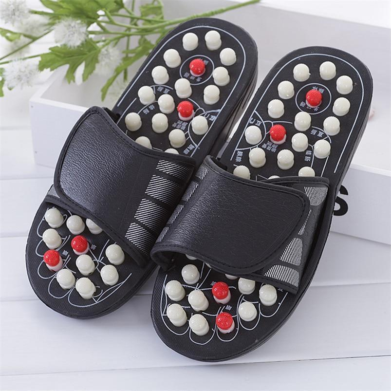 Reflexology Acupressure Massage Slippers - Gem Owl
