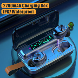 TWS Bluetooth Earphone with 2200mAh Charging Box