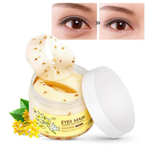 80pcs Gold Osmanthus Eye Mask - Gem Owl