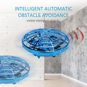 Mini Drone Quad Induction Levitation UFO - Gem Owl