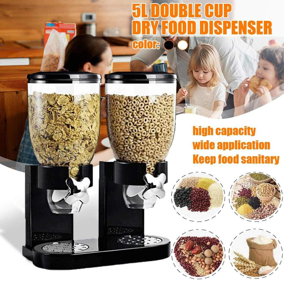 Double Cup Cereal Dispenser - Gem Owl