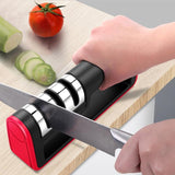 3-Stage Professional Knife Sharpener - Gem Owl
