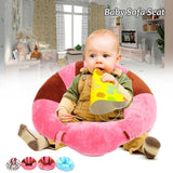 ComfySofa - Baby Support Seat Chair Sofa - Gem Owl