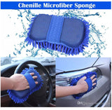 Microfiber Chenille Car Wash Glove - Gem Owl