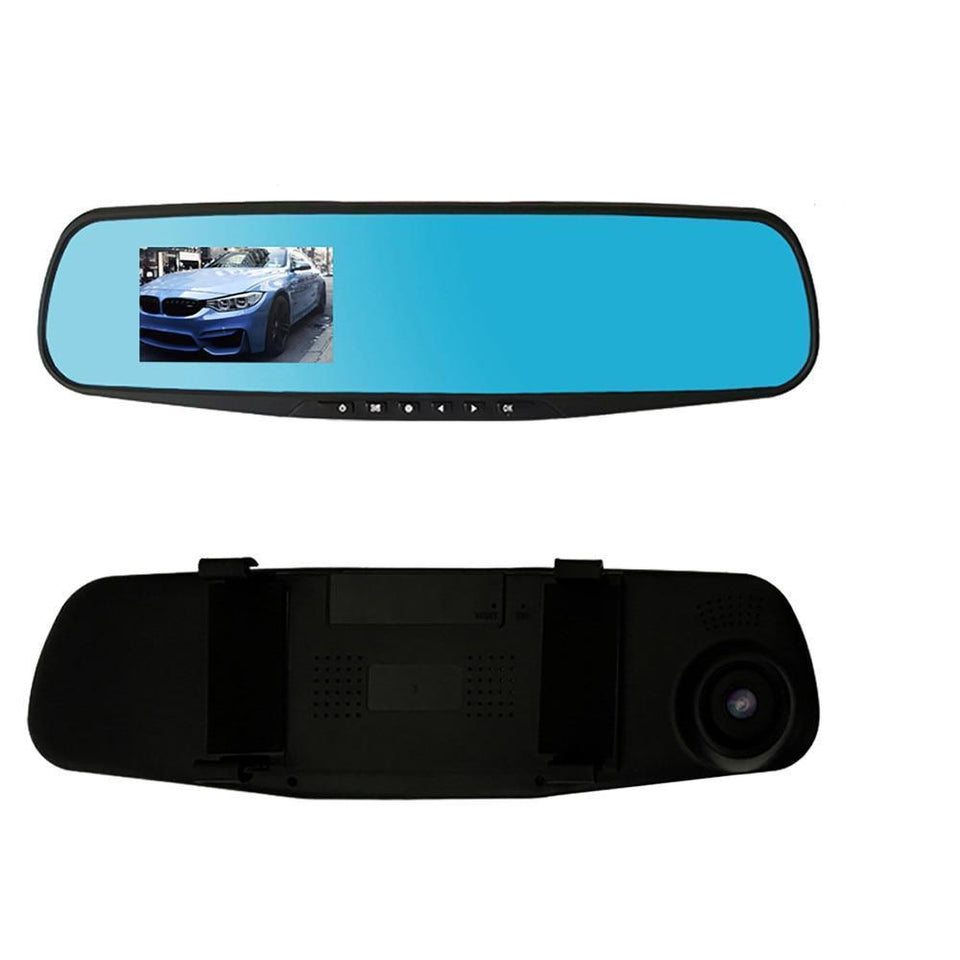 Dual Lens Dash Cam Vehicle Front Rear 1080P HD Vehicle Recording Dash Cam - Gem Owl