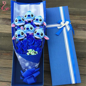 Handmade Stitch Bouquet - Gem Owl