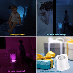 Smart Toilet Nightlight - Gem Owl